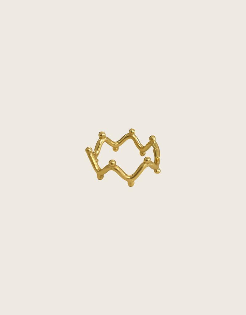 IBU JEWELS Ibu Jewels Ring // Zig Zag - RF