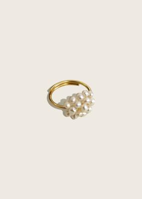 IBU JEWELS Ibu Jewels Ring // Pearl Bunch - RM
