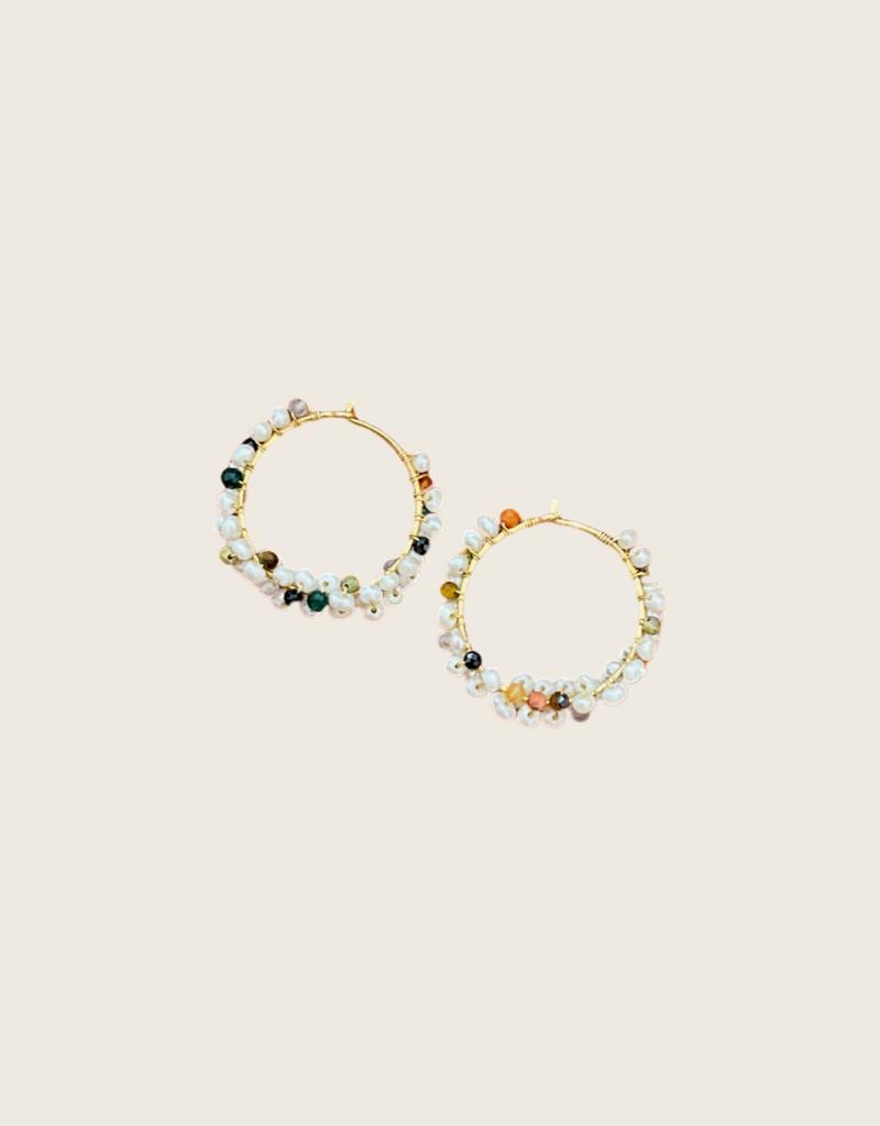 IBU JEWELS IBU JEWELS Earring // Pearl Bunch - EE