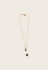 IBU JEWELS IBU JEWELS Necklace //Circle Drop - NL
