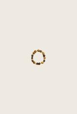 IBU JEWELS Ring - Stone Dot Bruin