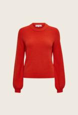 Desires Dita O-Neck Pullover - Rood