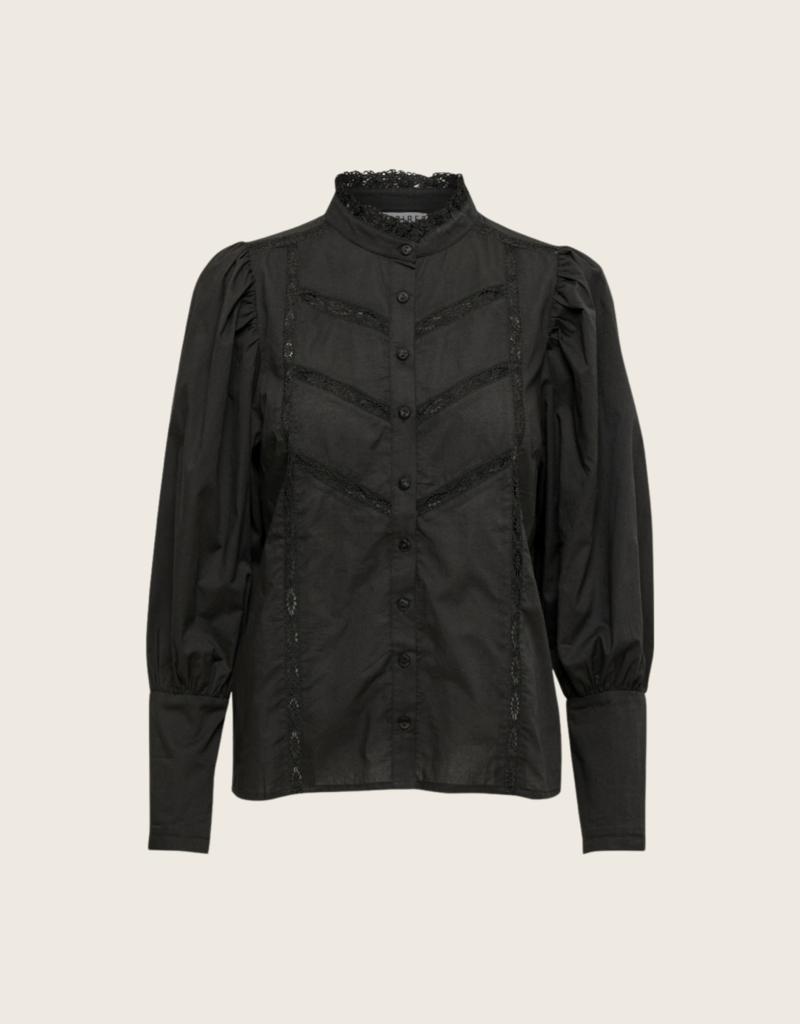 Desires Giana Shirt - Zwart