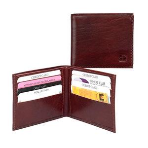 dR Amsterdam Portefeuille leer met papiergeldvak
