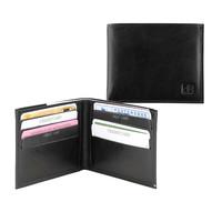 Portefeuille leer met papiergeldvak