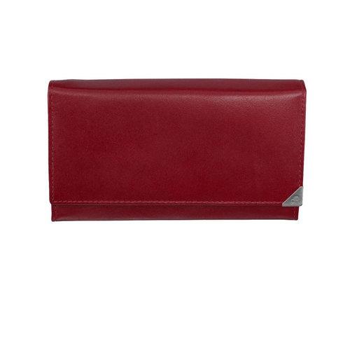dR Amsterdam Huishoudportemonnee met knip dR Amsterdam Toronto rood