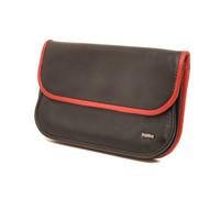 Dames portemonnee Soft zwart rood