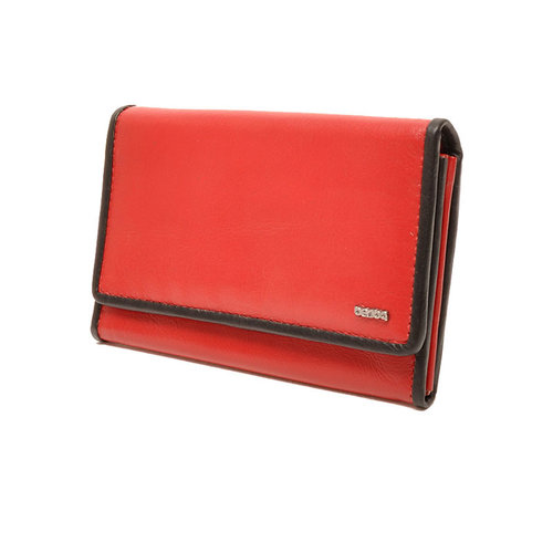 Berba Dames portemonnee Soft rood zwart