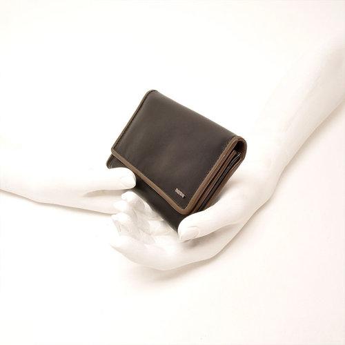 Berba Dames portemonnee Berba Soft zwart taupe