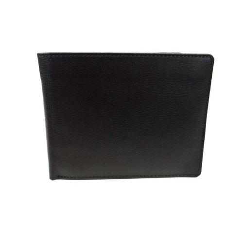 LD Leather Design Portemonnee heren LD muntvak met rits