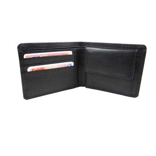 LD Leather Design Portemonee heren LD volledig van leer