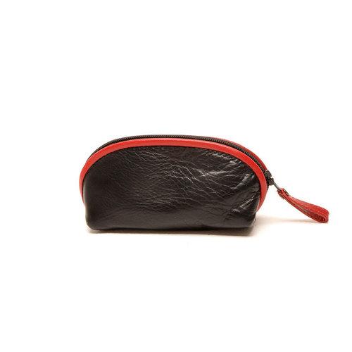 Berba Sleuteletui muisje Berba Soft zwart rood
