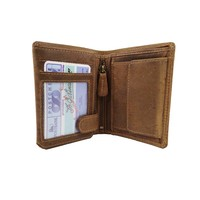 Billfold portemonnee hunter leer