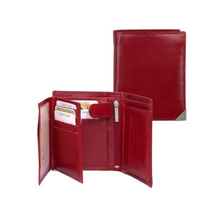 dR Amsterdam Billfold portemonnee Toronto rood
