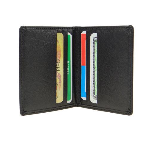 LD Leather Design Pasjeshouder met papiergeldvak