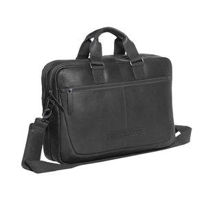 The Chesterfield Brand Laptoptas Seth zwart 15,6 inch