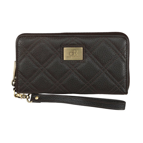 dR Amsterdam Clutch ritsportemonnee dR Mint moro