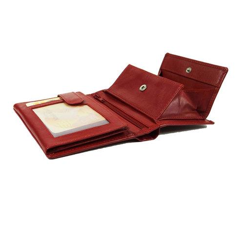 LD Leather Design Dames portemonnee LD met schudbak