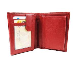 LD Leather Design Dames portemonnee met schudbak