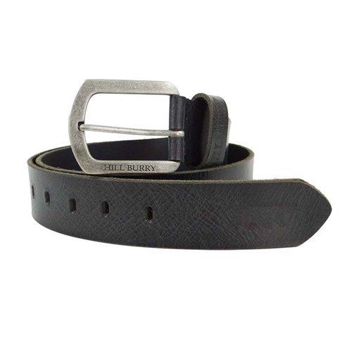 Hill Burry Jeans riem grijs 4 cm