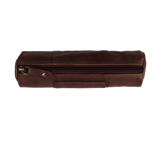 The Chesterfield Brand Pennen-etui Lea bruin The Chesterfield brand