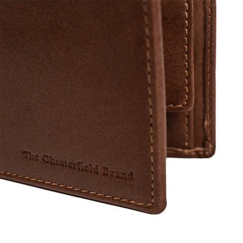 The Chesterfield Brand Portemonnee heren cognac Chesterfield Brand