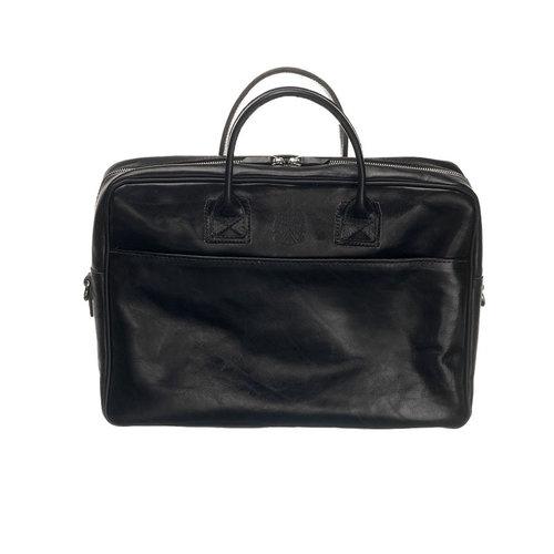 Mutsaers Laptoptas Sleeve Plus zwart 15,6 inch