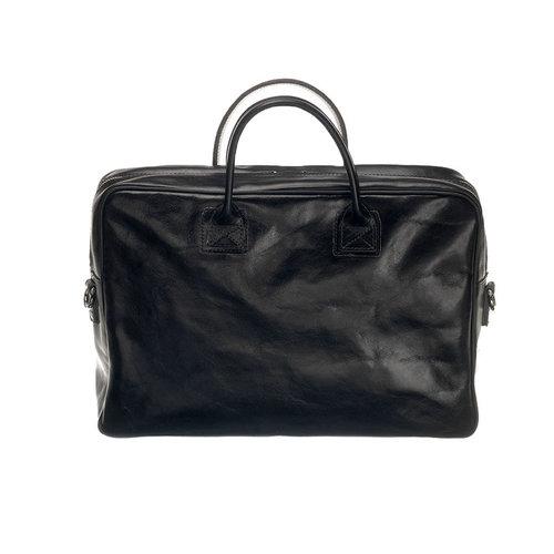 Mutsaers Laptoptas Mutsaers The Sleeve Plus zwart 15,6 inch