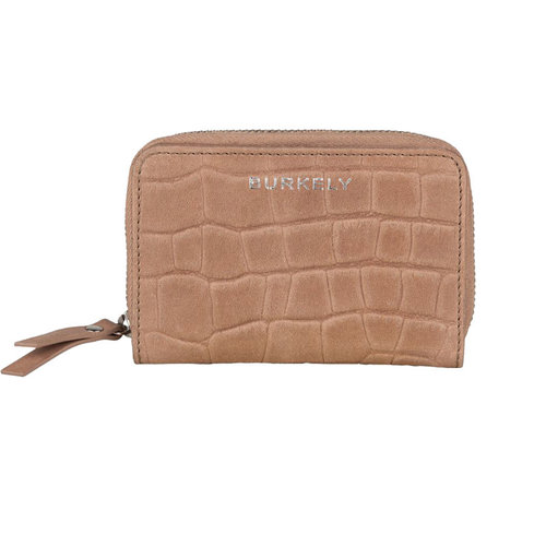 Burkely Ritsportemonnee Croco Caia taupe