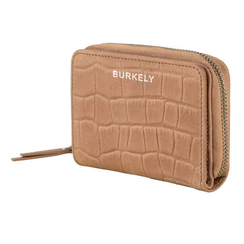 Burkely Ritsportemonnee Burkely Croco Caia taupe