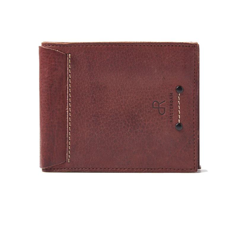 dR Amsterdam portemonnee heren bruin