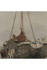 Dunnebier Home Muursticker Zeilboot op het Wad Rijksmuseum - verwijderbaar