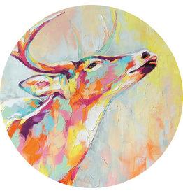 Dunnebier Home Muursticker Hert schilderij