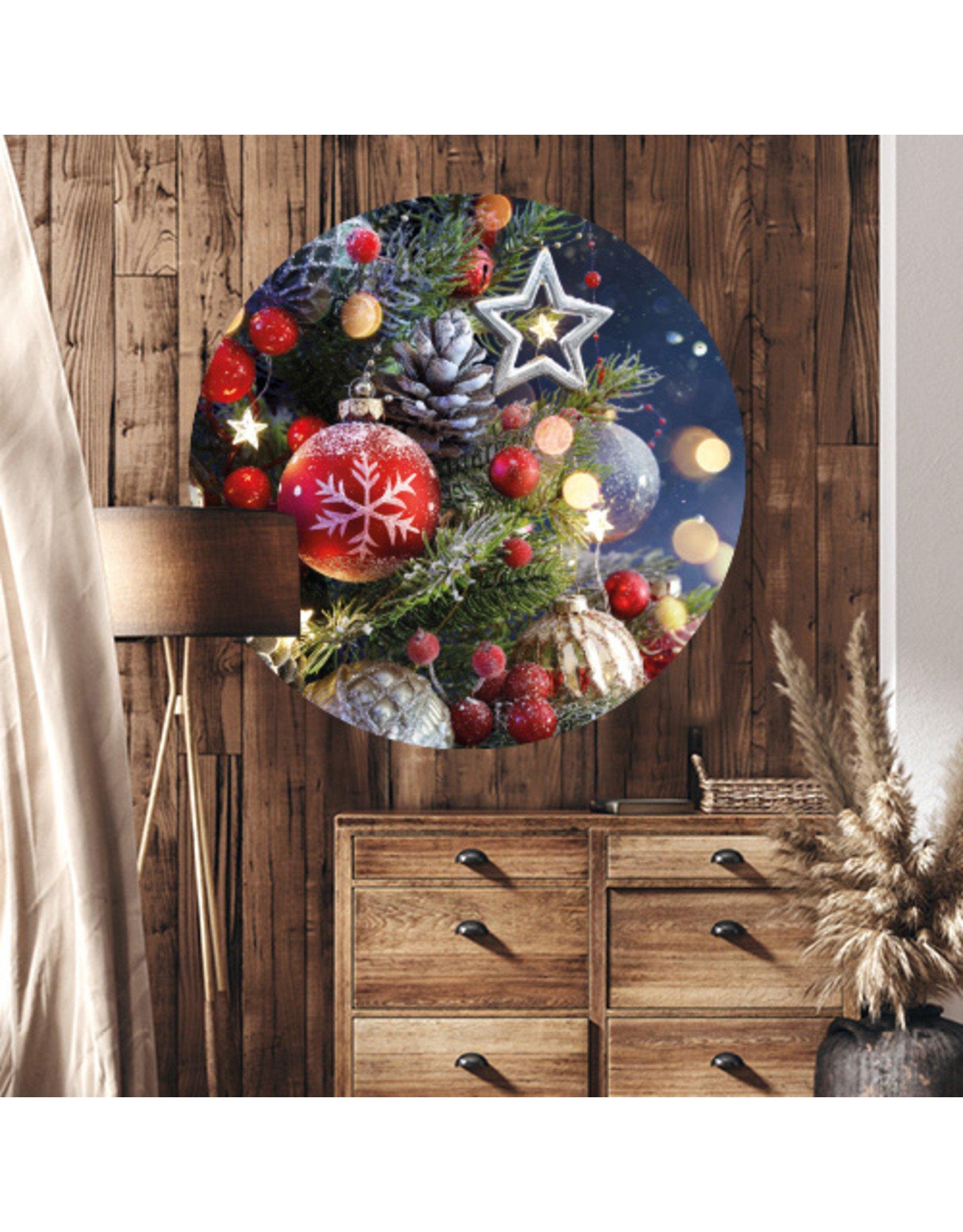 Dunnebier Home Muursticker Kerst - verwijderbaar