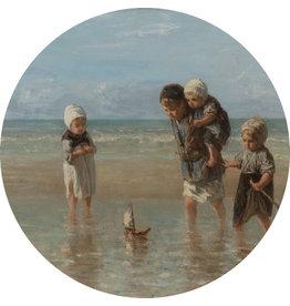 Dunnebier Home Muursticker Kinderen op het strand - Rijksmuseum