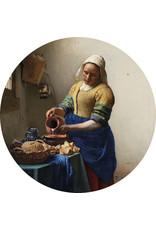 Dunnebier Home Muursticker Melkmeisje Rijksmuseum - verwijderbaar