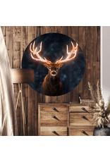 Dunnebier Home Muursticker Hert - verwijderbaar