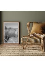 Dunnebier Home Poster Duinen met hek zwart/wit
