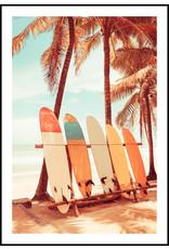Dunnebier Home Poster Vintage surfplanken