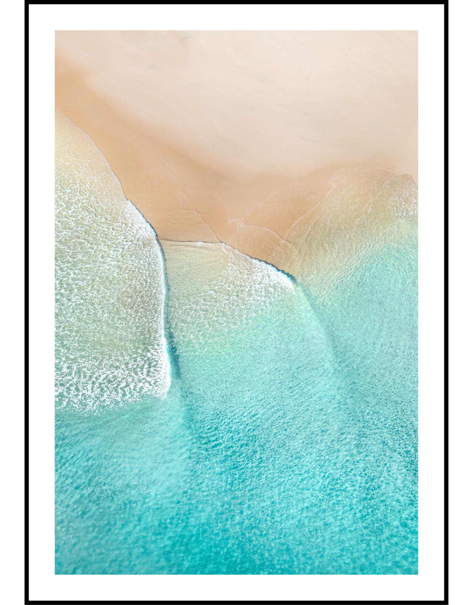Dunnebier Home Poster Strand met blauwe zee