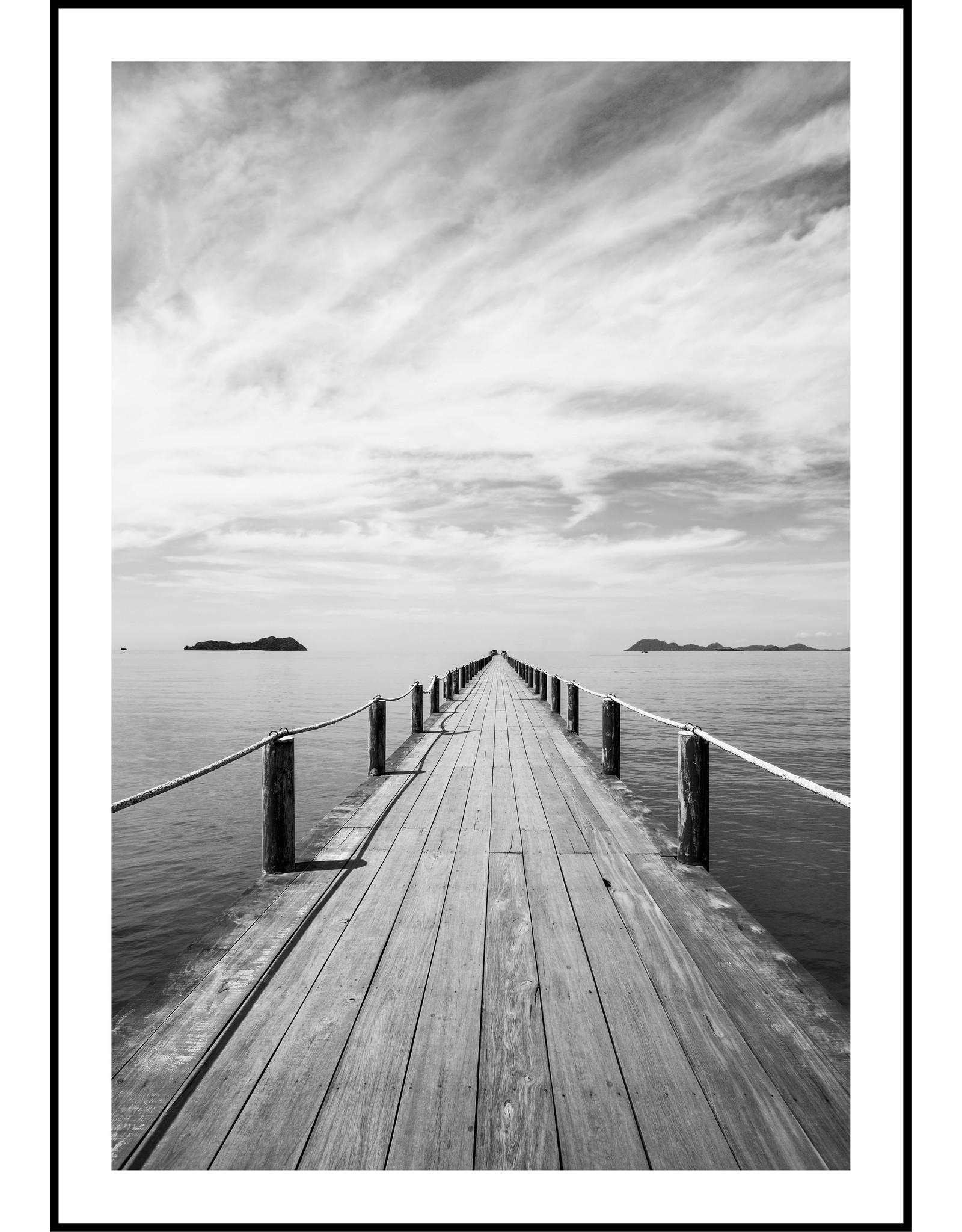 Dunnebier Home Poster Steiger aan zee