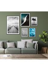 Dunnebier Home Poster Droogbloemen blauw