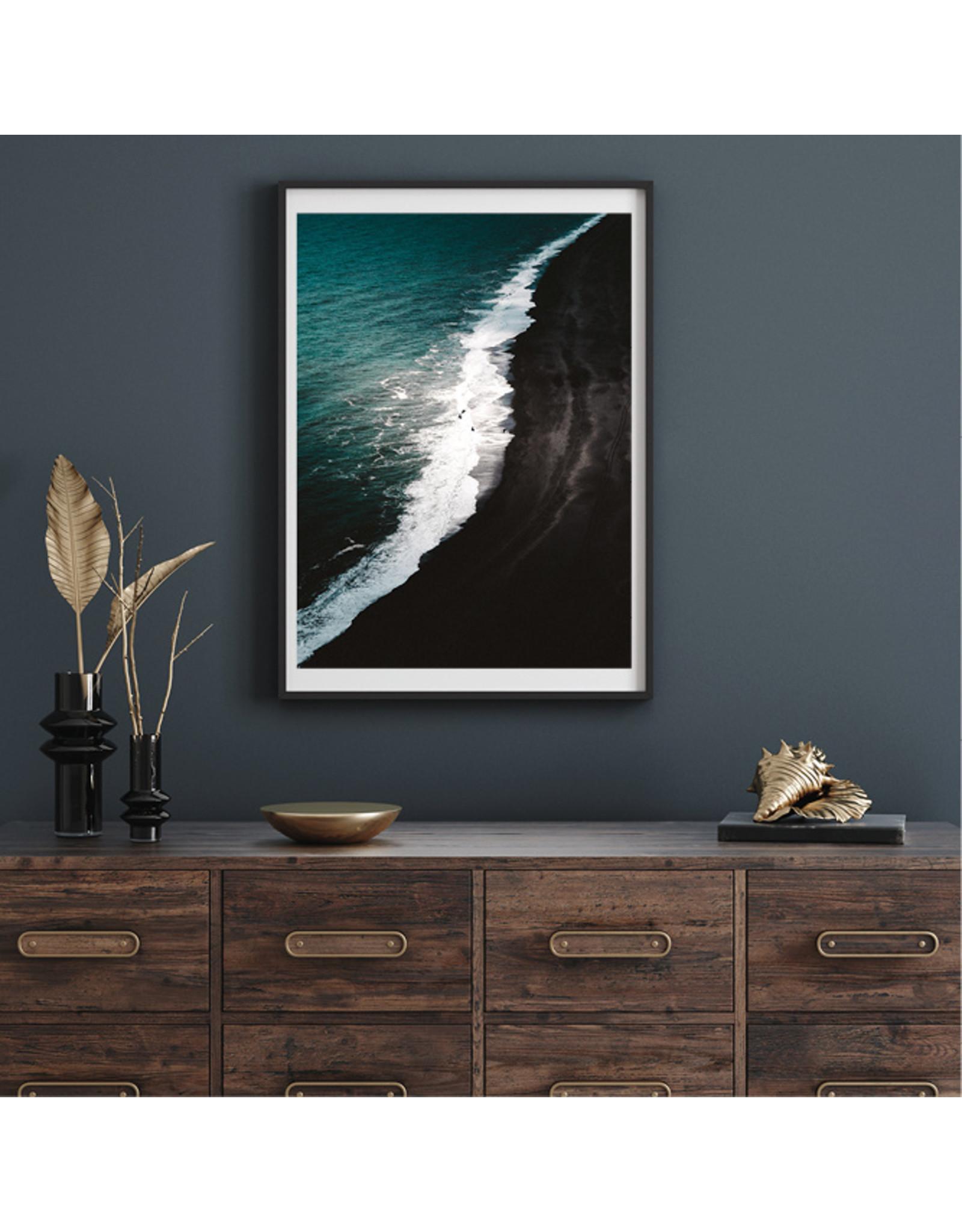 Dunnebier Home Poster Black volcanic beach No2