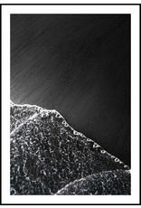 Dunnebier Home Poster Black volcanic beach detail