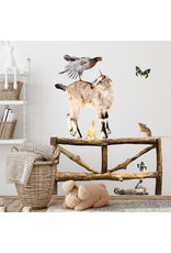 Dunnebier Home Muursticker- set Dierenvriendjes Boerderij M - verwijderbaar