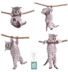 Dunnebier Home Muursticker-set Kittens