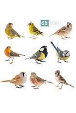 Dunnebier Home Muursticker-set Vogeltjes - verwijderbaar