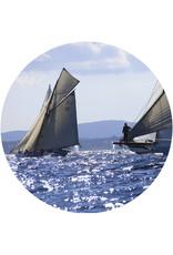 Dunnebier Home Muursticker Voiles de Saint-Tropez - verwijderbaar