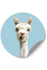 Dunnebier Home Muursticker Alpaca - verwijderbaar
