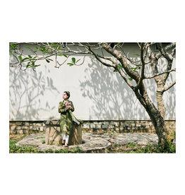 Dunnebier Home Poster Vrouw met lotusbloemen